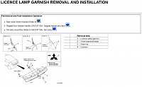 Нажмите на изображение для увеличения Название: LICENCE LAMP GARNISH REMOVAL AND INSTALLATION.png Просмотров: 5 Размер:95.8 Кб ID:45580